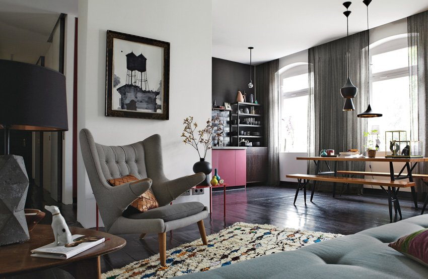 современный интерьер дизайн гостиной