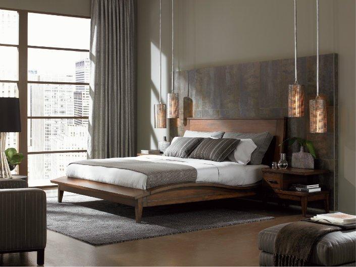 стиль модерн в помещении с панорамным окном