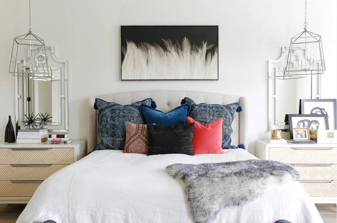 предметы декора и подушки