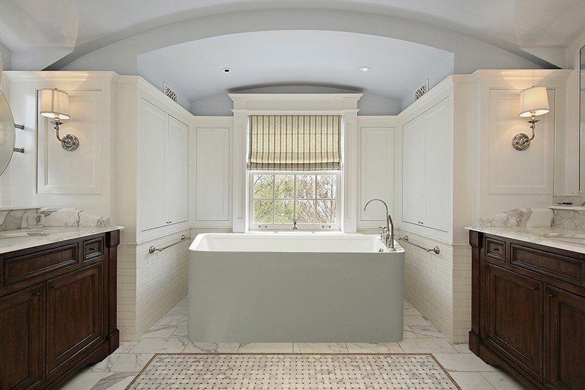 прямоугольная ванна