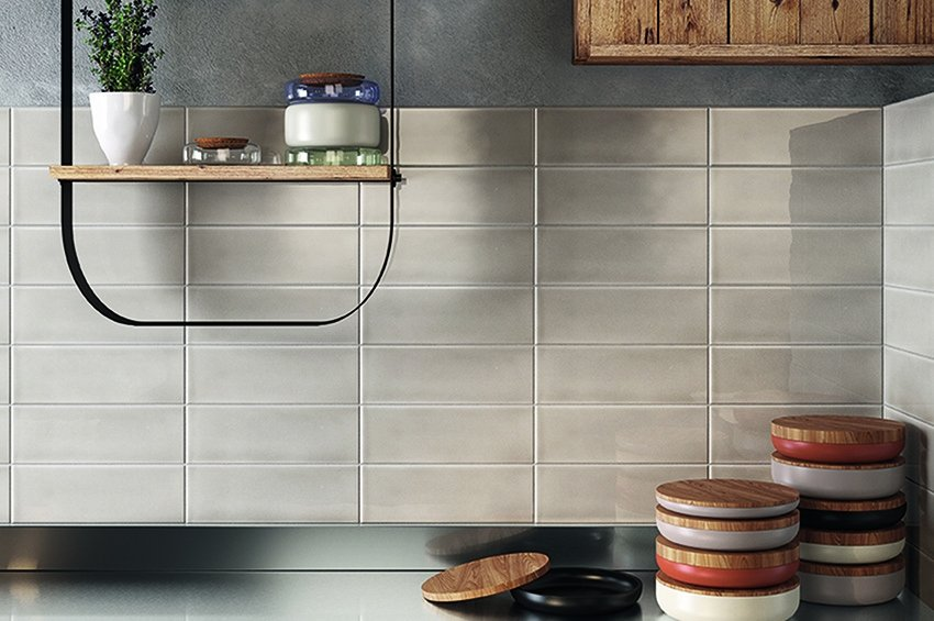 Backsplash ceramic tile