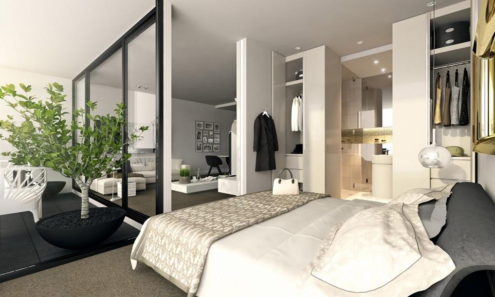 лоджия со спальней