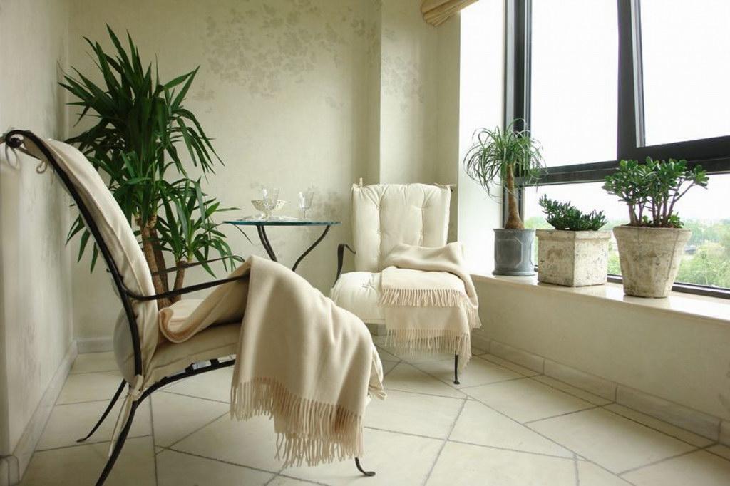 балкон классический стиль
