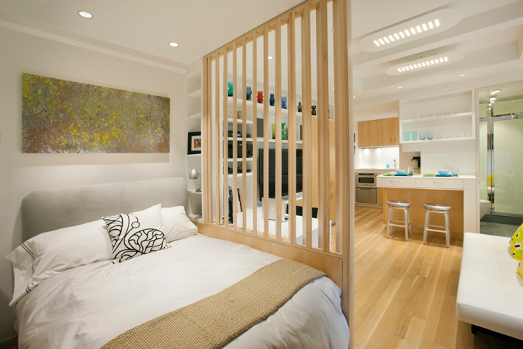 Дизайн спальни 20 кв.м с ребенком фото