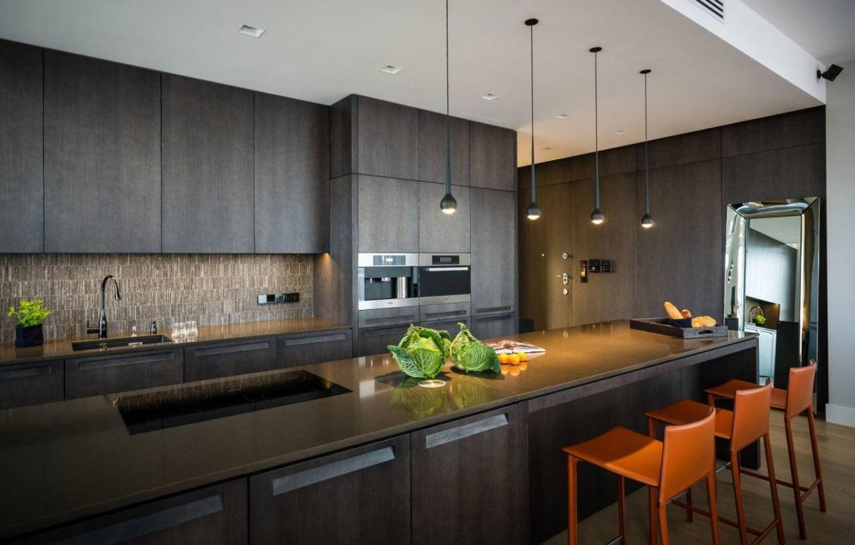 кухня хай-тек дизайн