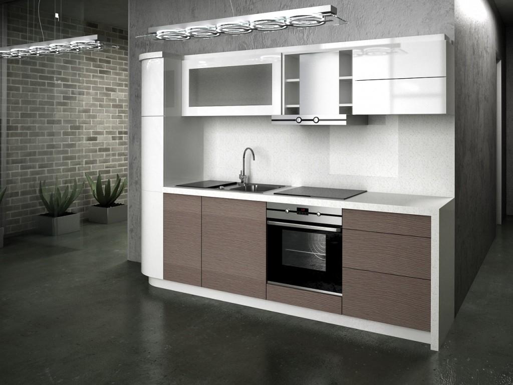 Ремонт кухни в стиле хай-тек
