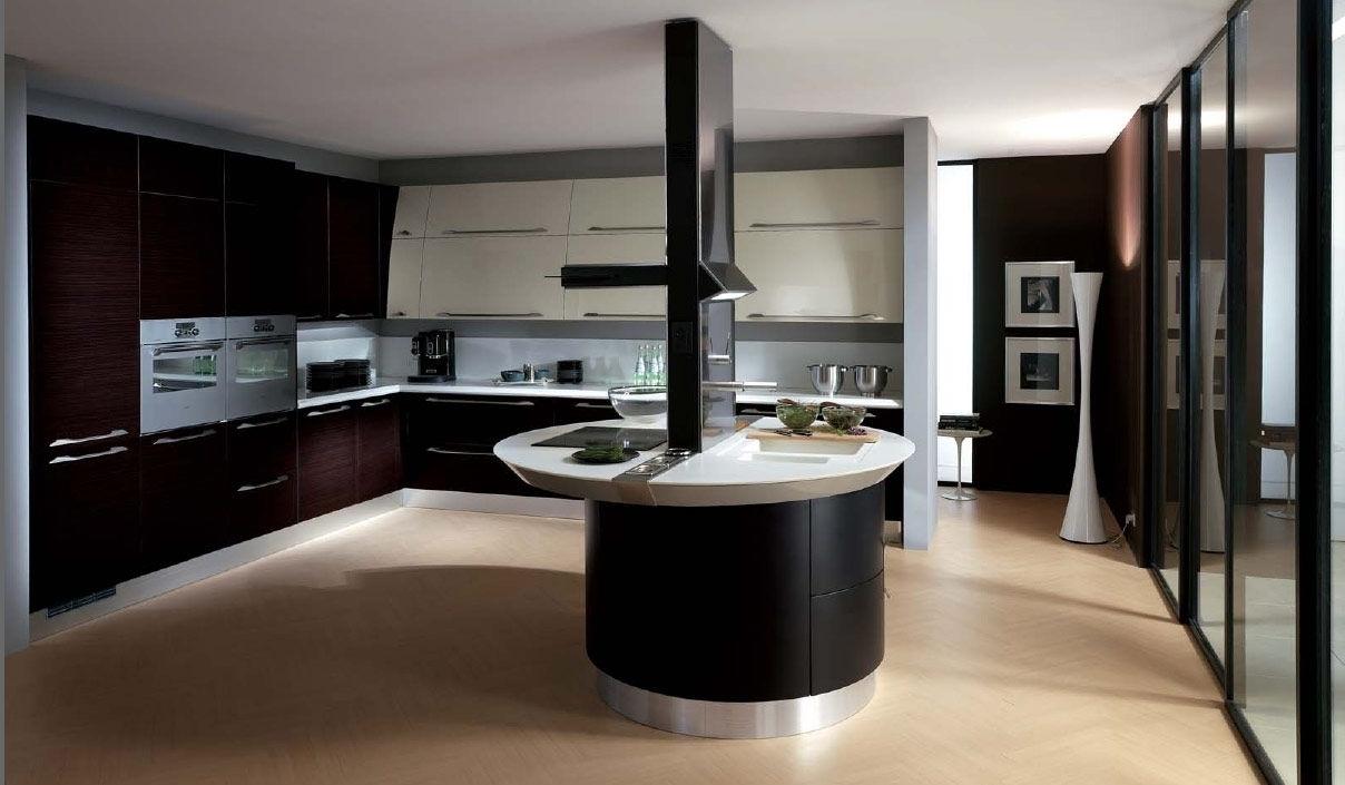 Плитка для кухни в стиле хай-тек