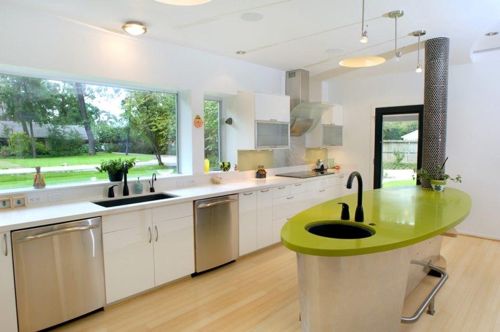 Цветовая гамма кухни в стиле хай-тек