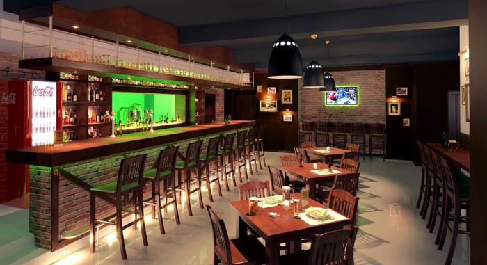 пивной бар дизайн фото