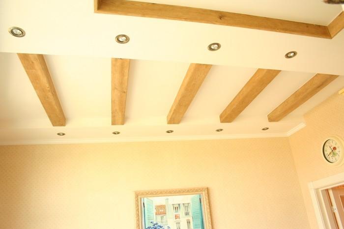 Балки для потолка своими руками 56