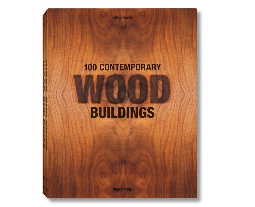 книга 100 Contemporary Wood Buildings