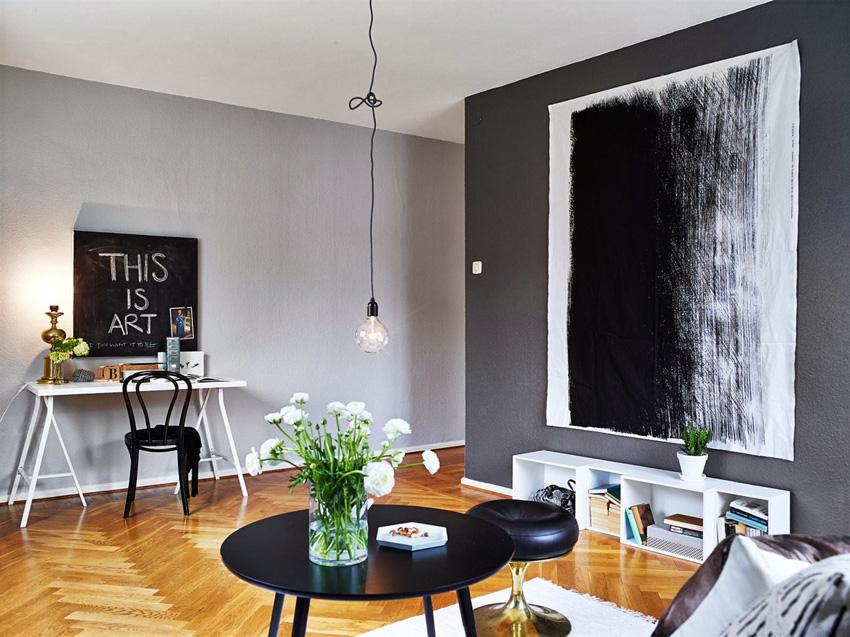 дизайн интерьера маленького зала