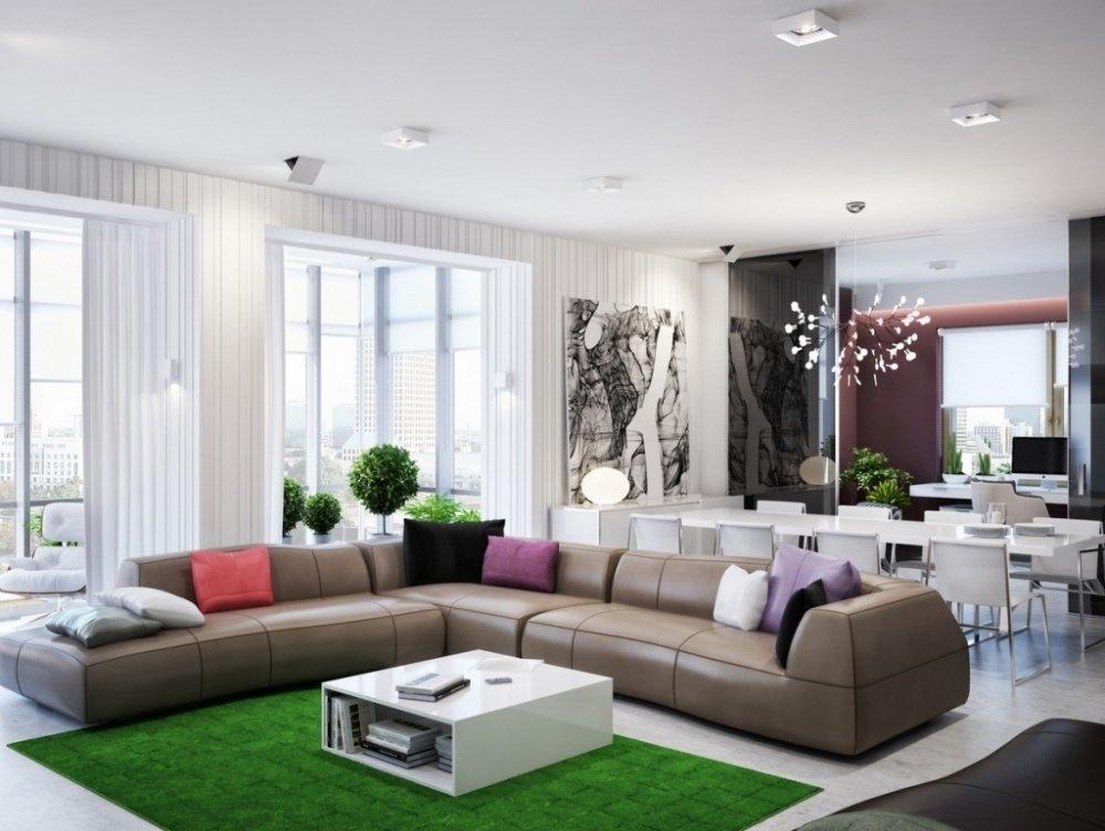 гостиная в стиле модерн 2017 59 фото дизайна интерьера The Architect