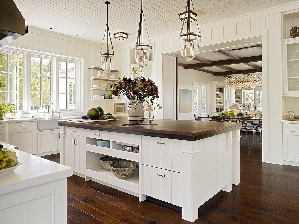 Кухня в американском стиле 2017 59 фото дизайна