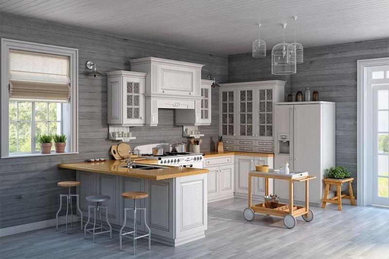 кухни в американском стиле фото