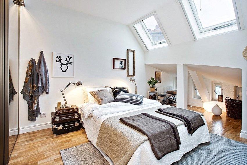 спальня в скандинавском стиле 2017 82 фото и идеи интерьера
