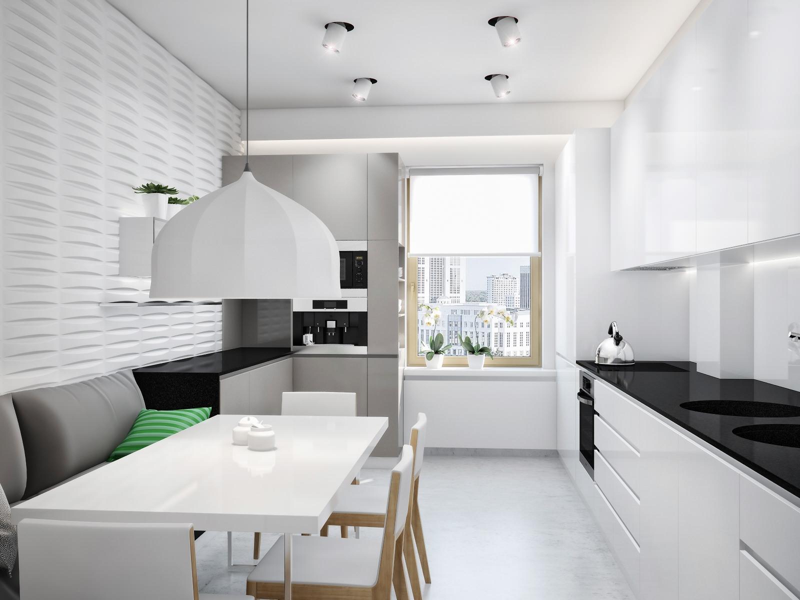 Кухня в минималистичном стиле