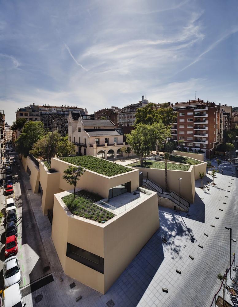 библиотека Барселона