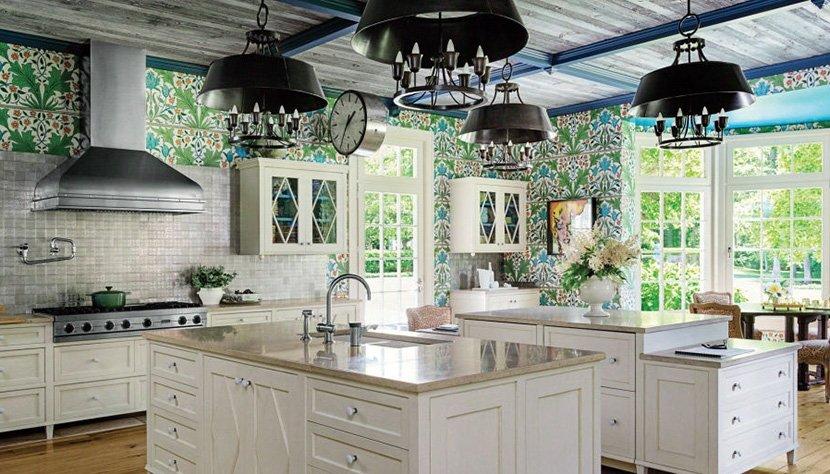 фото кухни-студии в частном доме