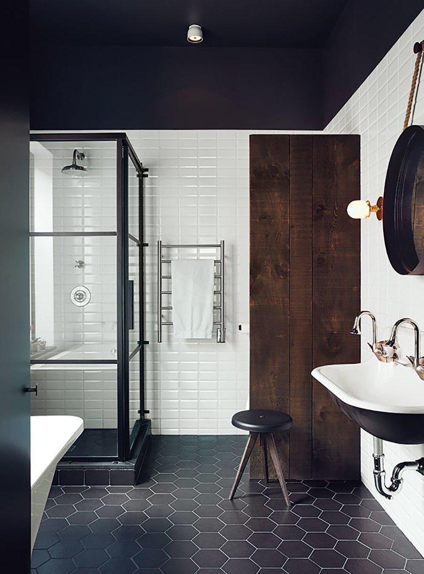 скандинавский ванная