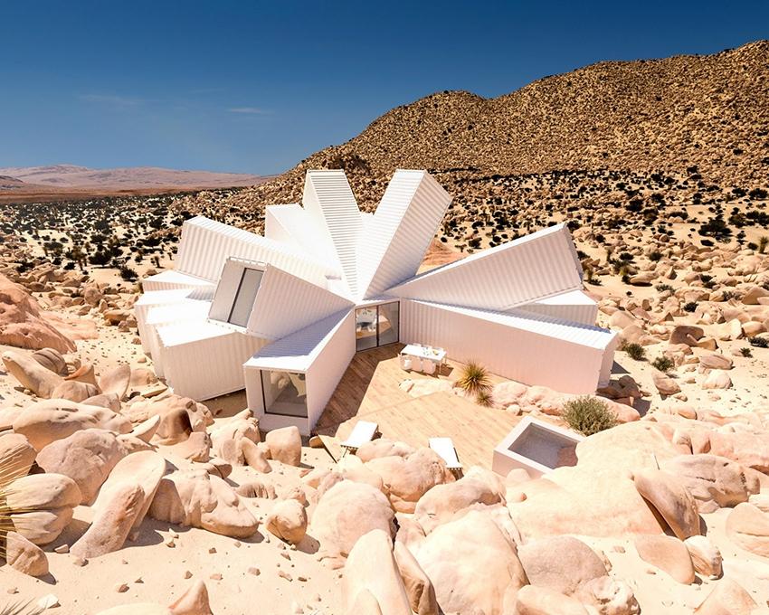 жилой дом в пустыне
