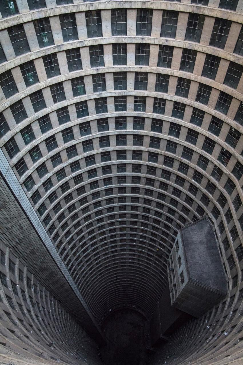 Апартаменты Ponte City, Йоханнесбург, Южная Африка