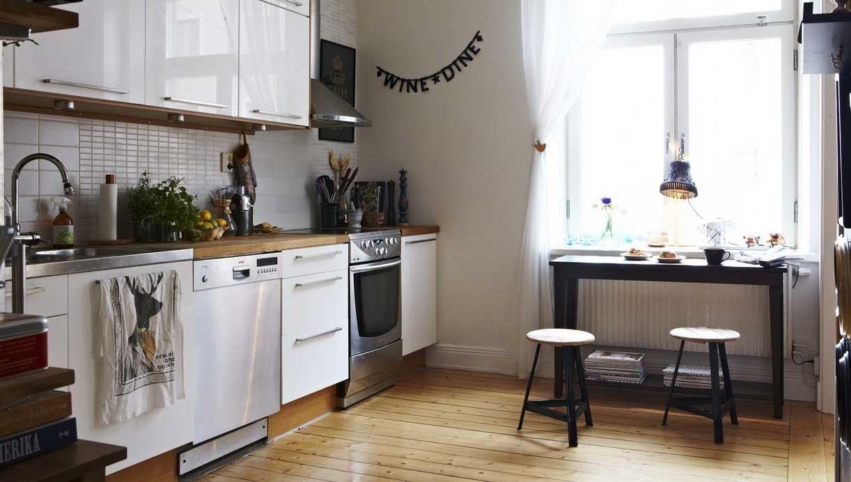 скандинавский стиль кухня