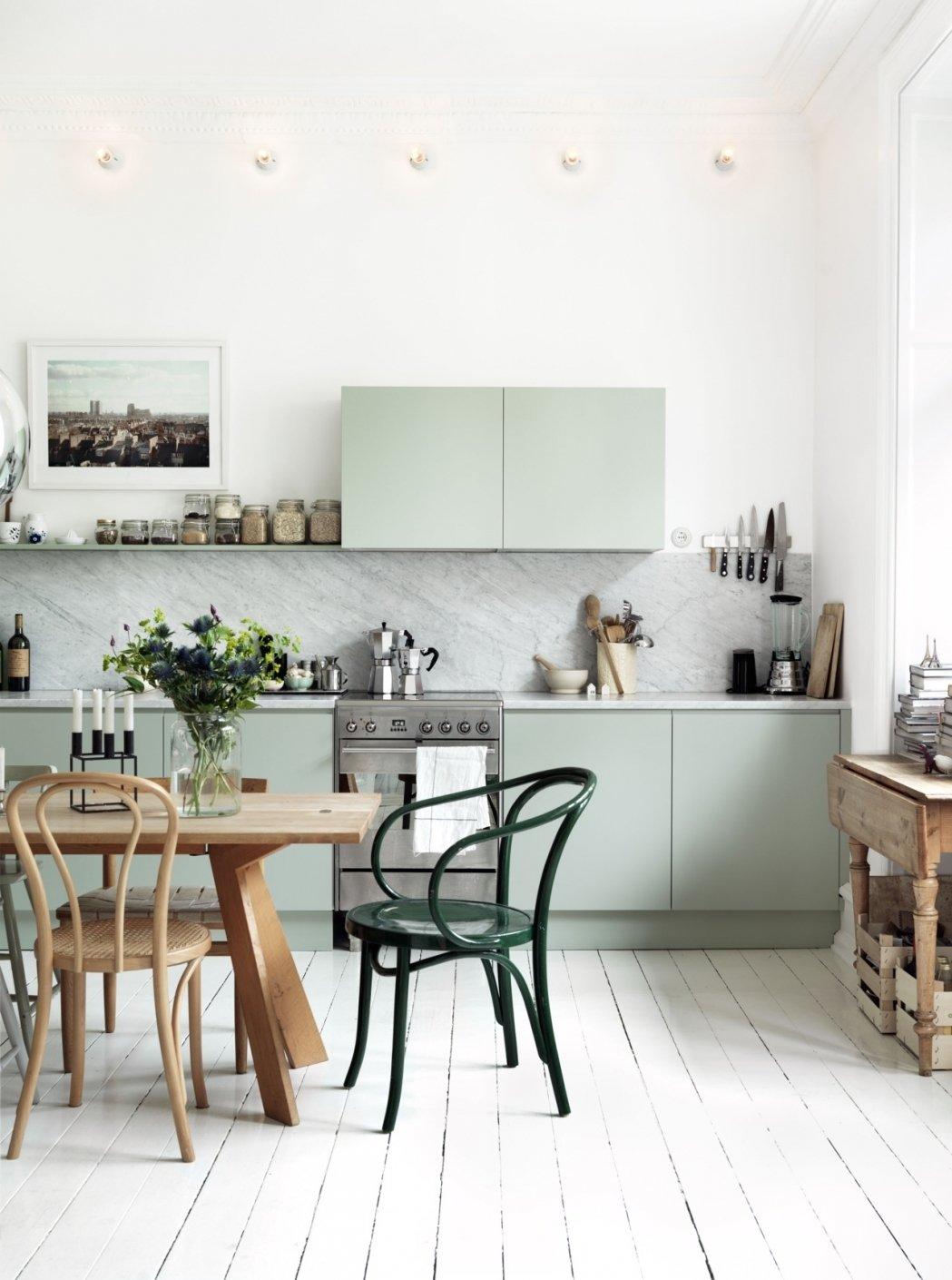 скандинавский стиль кухня современный стиль