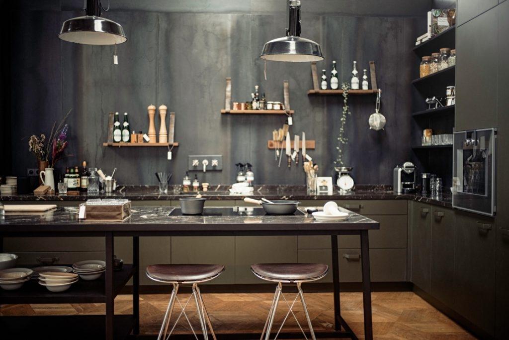 дизайн кухни в стиле лофт 2017 68 фото и идеи интерьера кухни The