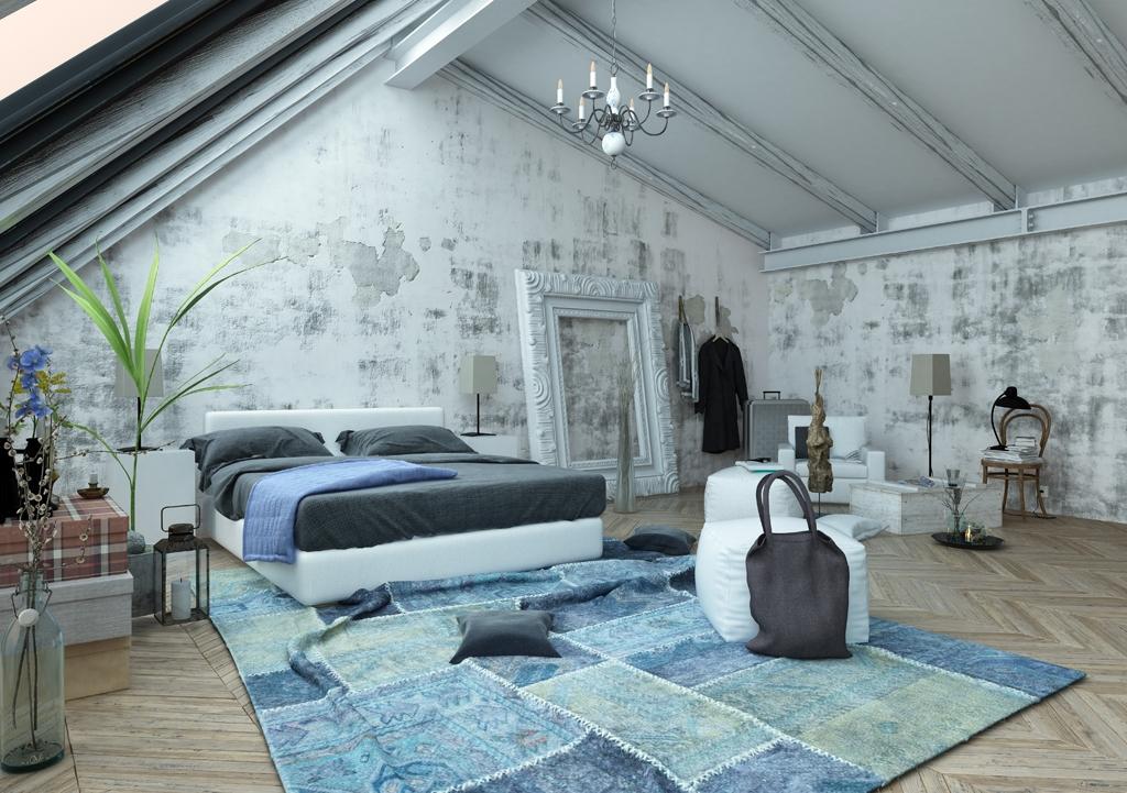 дизайн спальни на мансарде 2017 84 фото и идеи интерьера спальни