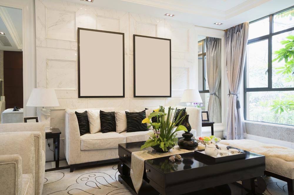 Дизайн проект гостиной