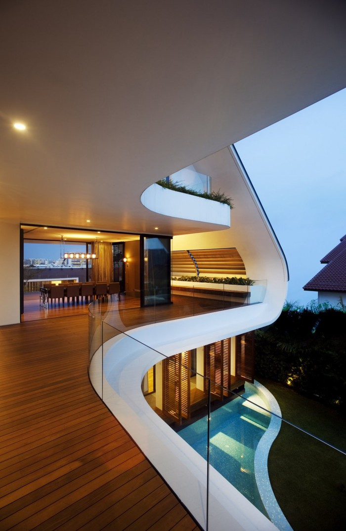 архитектор спроектировал дом вдохновленный танцем танго помнит действительно веселые