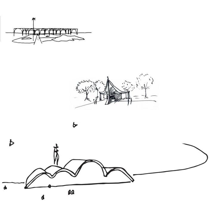 Скетчи великих архитекторов