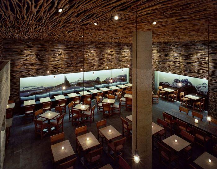 интерьеры ресторанов мира фото