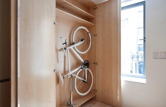 Несколько дельных способов хранить велосипед в квартире magm.