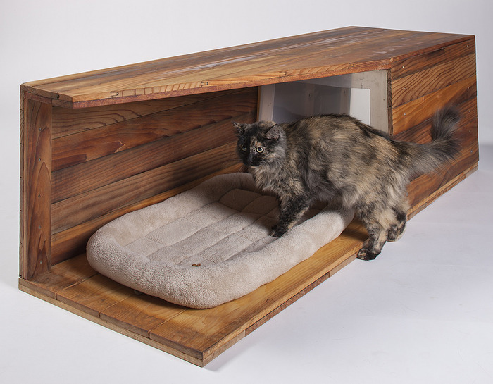 outside cat box plans