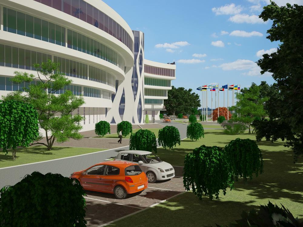 Дипломный проект гостиницы quot Бомонд quot в г Днепропетровске  0
