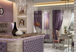 Beauty salon in Riyadh