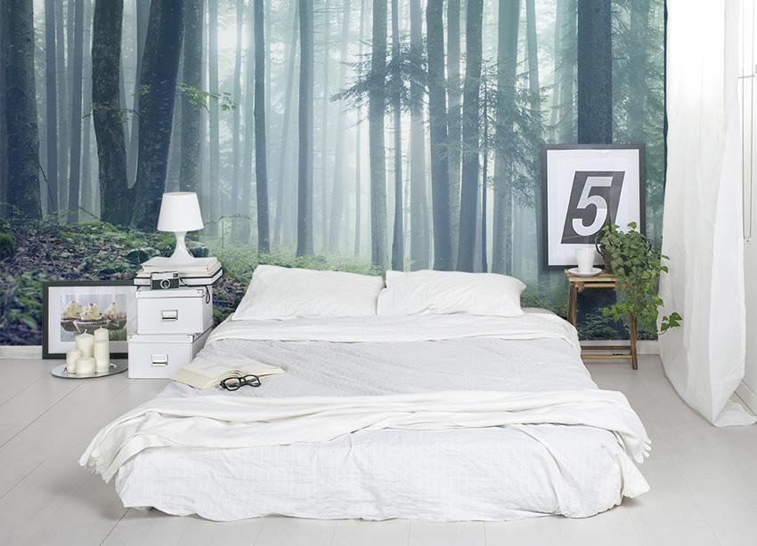 обои в спальню 2017 на фото дизайн обоев для спальни The Architect