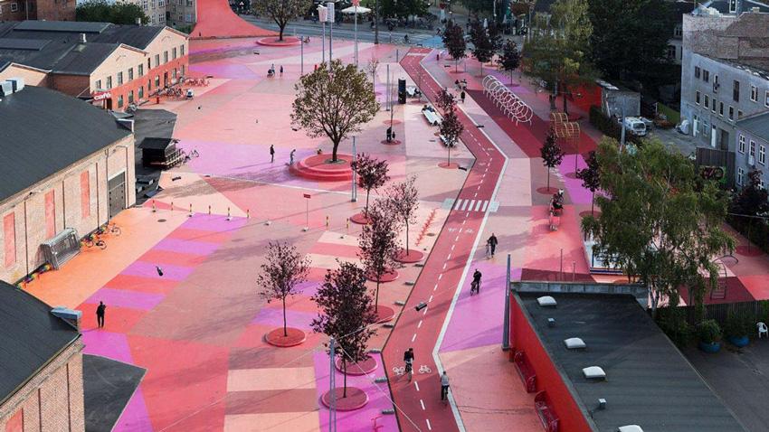 Superkilen в Копенгагене: парк, как мультинациональное пространство