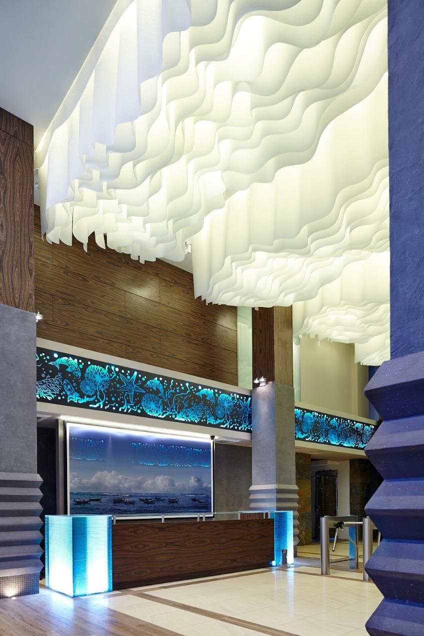 Декор потолка из бумаги 78